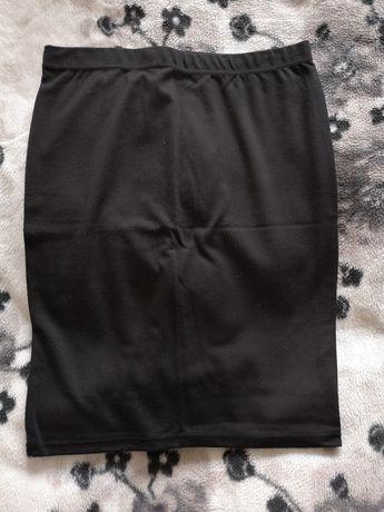 Spódnica, spódniczka, ołówkowa, c&a, czarna, r. L