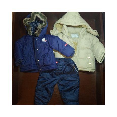 Комплект верхней одежды для малыша 6-9 месяцев