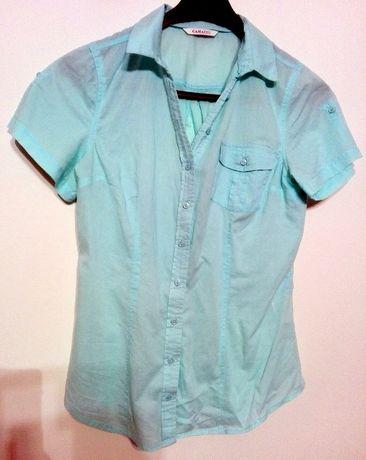 śliczna niebieska koszula CAMAIUE 36