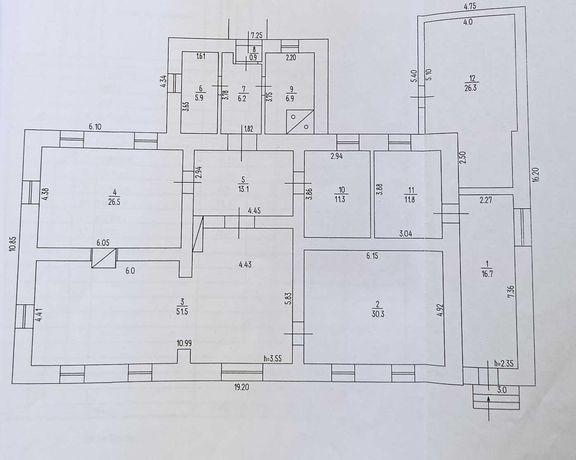 Оренда приміщення 210 кв.м. в центрі міста, Умань