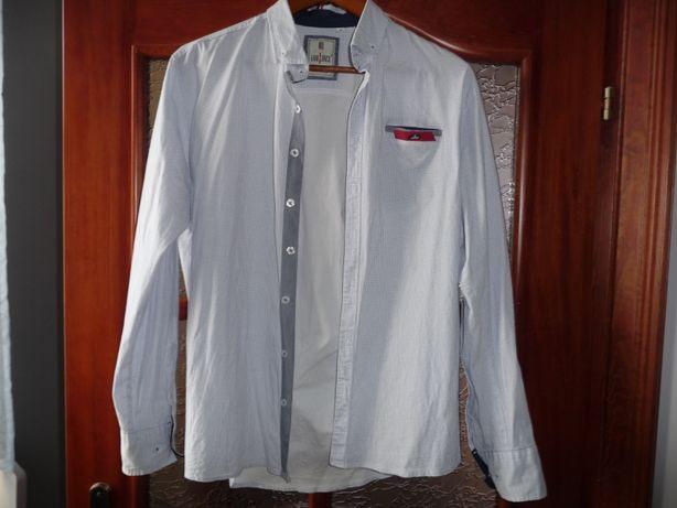 koszula młodzieżowa L 42 slim jak nowa