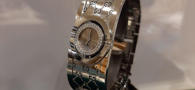 Gucci YA112503 Twirl Diamonds NOWY PROMOCJA damski kwarcowy