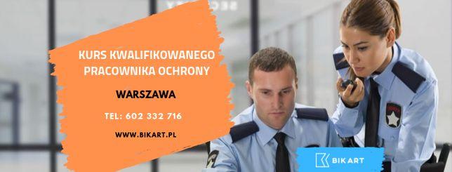 Kurs Kwalifikowanego Pracownika Ochrony Warszawa