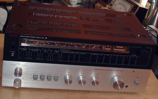 Tosca 303 Unitra Diora / amplituner stereo / vintage