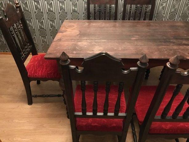Stół + krzesła (1992rok)
