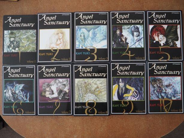 Angel Sanctuary - KOMPLET, tomy 1-10 (manga)
