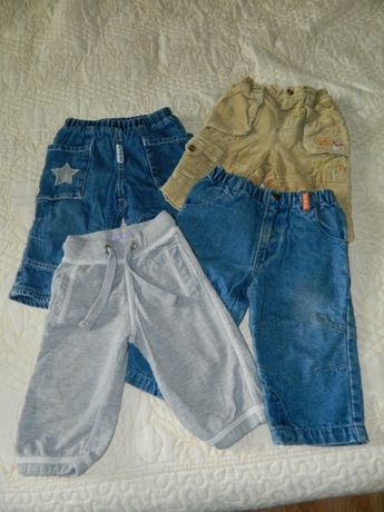 Штани джинси вельвети спортивні