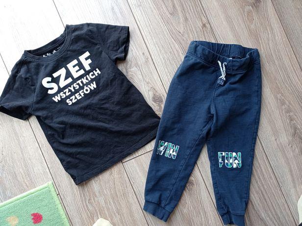 T-shirt spodnie 98 dresowe 51015 Pepco