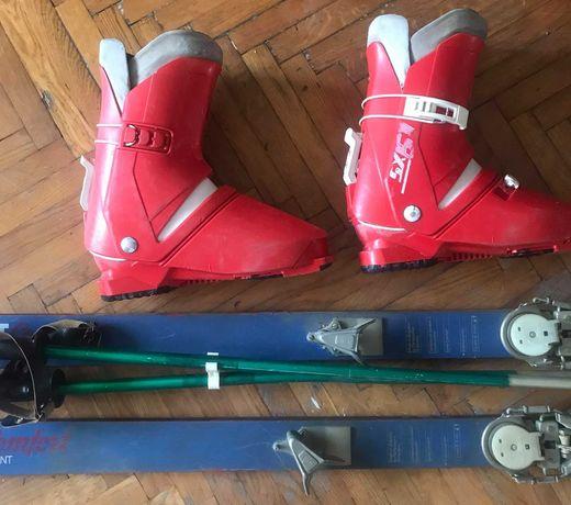Лыжные ботинки SALOMON. Горные лыжи Mladost Comfort SPRINT