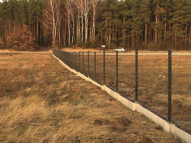 Ogrodzenie panelowe 1,53 plus 25 cm podmurówka prosto od producenta 51