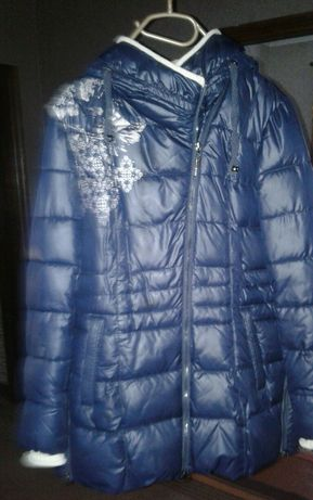 Пуховик куртка зимняя курточка зима женская 50 размер