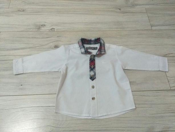 Biała koszula cool club 74