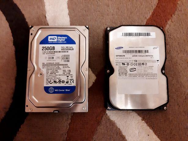 Жесткие диски HDD SATA IDE 250GB 160GB 500GB