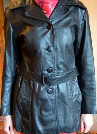 Куртка кожаная торг