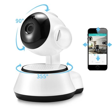 Câmera Vídeo Vigilância • 720P • Rotativa • 360 • WI-FI • PTZ