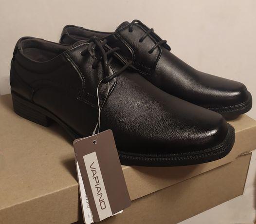 Buty eleganckie chłopięce rozmar 35