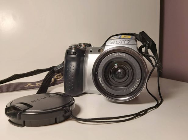 Sony DSC-H5 Cyber Shot aparat + akcesoria