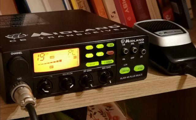 CB radio Alan Midland 48 Plus Multi
