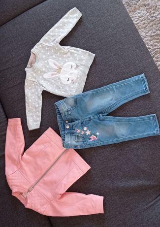 Zestaw ubranek dla dziewczynki 31sztuk