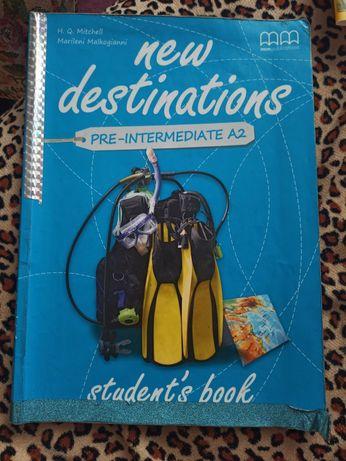 Книжка з англійської new destination