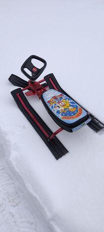 Снегокати,санки,санки з рульом