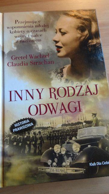 Inny Rodzaj Odwagi, Gretel Wachtel książka, powieść, prezent
