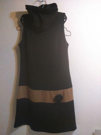 Vestido Morgan de Toi Gola Alta s/ Mangas