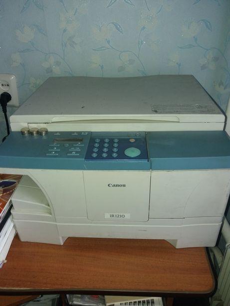 Ксерокс, копир Canon IR 1210 принтер.