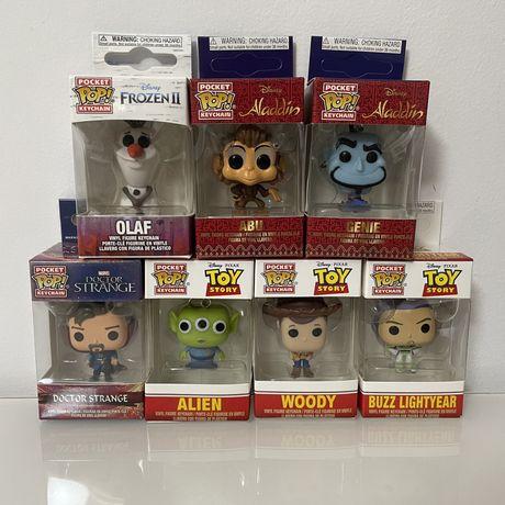 Funko Pop Keychains! Toy Story, disney, marvel, etc