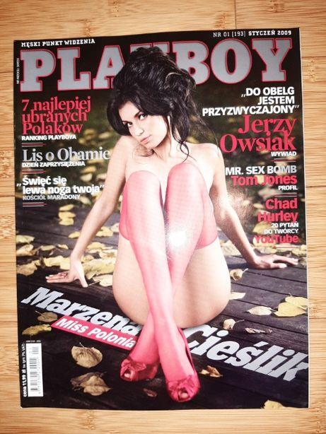 Playboy nr.1 (193), styczeń 2009