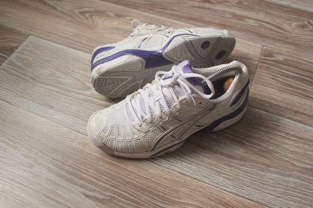 Asics gel resolution 39 размера теннисные кроссовки гандбол