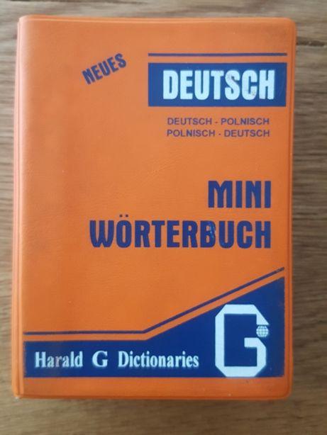 Mini słownik niemiecko-polski polsko-niemiecki - R.Sadziński, Markowic