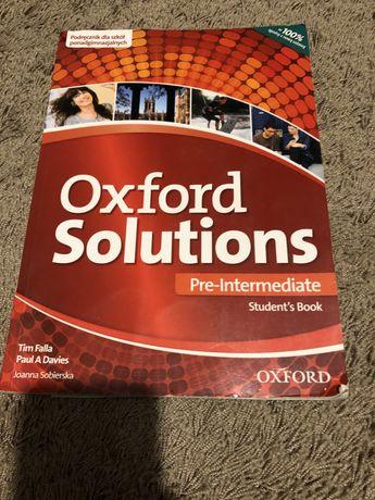 Książka Oxford Solutions