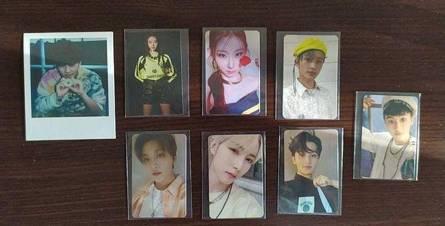 Kpop Nct Itzy photocard