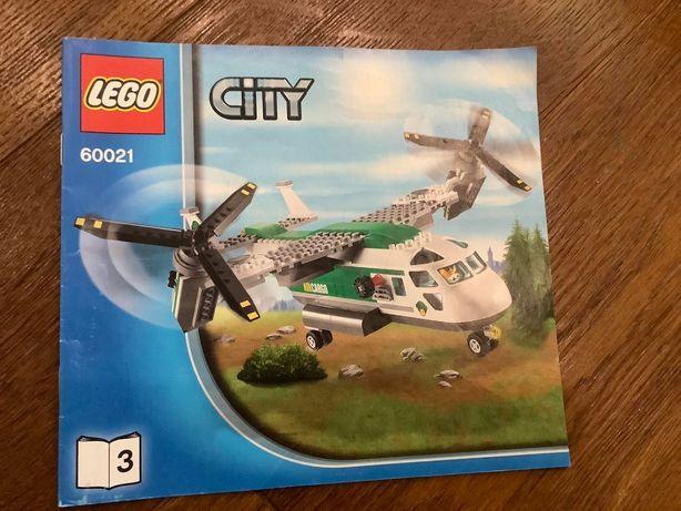 грузовой самолет lego 60021