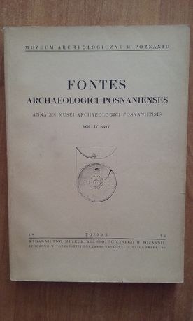 Fontes Archaeologici Posnanienses voll. IV (1953)