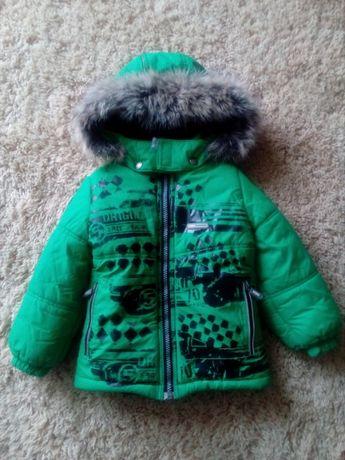Куртка Lenne + шапка шарф Next