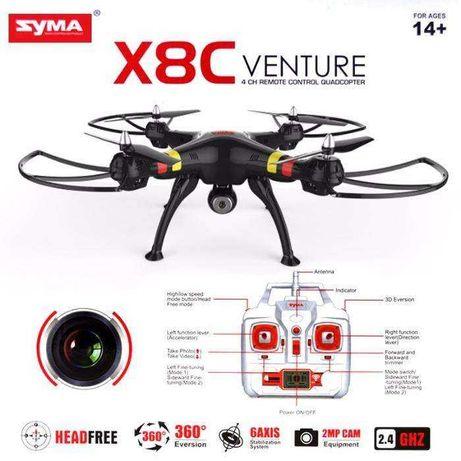 Drone X8C SYMA 1 para peças outro a funcionar