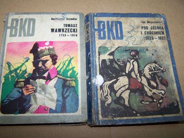 Książki historyczne BKD wyd MON J. Meysztowicz Pod Cecorą B. Szyndler