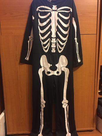 Костюм скелет на хеллоуин