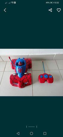Brinquedo carro homem aranha
