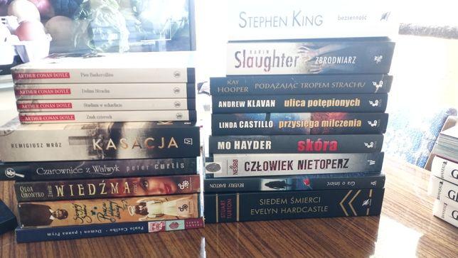 Sprzedam książki, kryminał, thriller, fantastyka