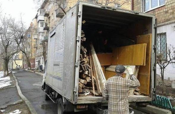 вывоз строительного мусора уборка грузчики экскаватор демонтаж