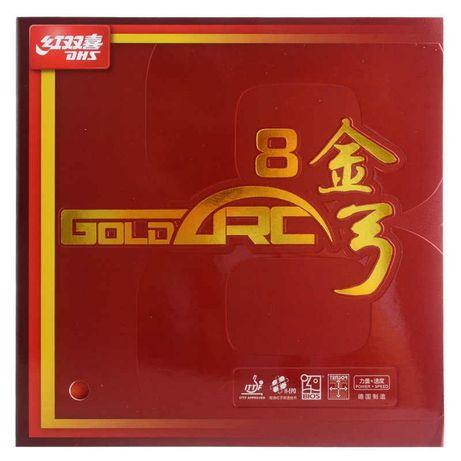 Накладки для настольного тенниса DHS GOLD ARC 8 50 goldarc 8 купить