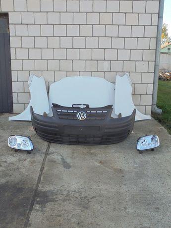 Капот бампер фара крыло радиатор телевизор дверь Volkswagen Caddy