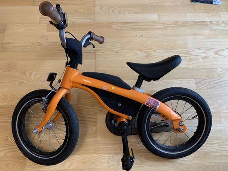 Детский велосипед-беговел BMW Kidsbike 2 в 1