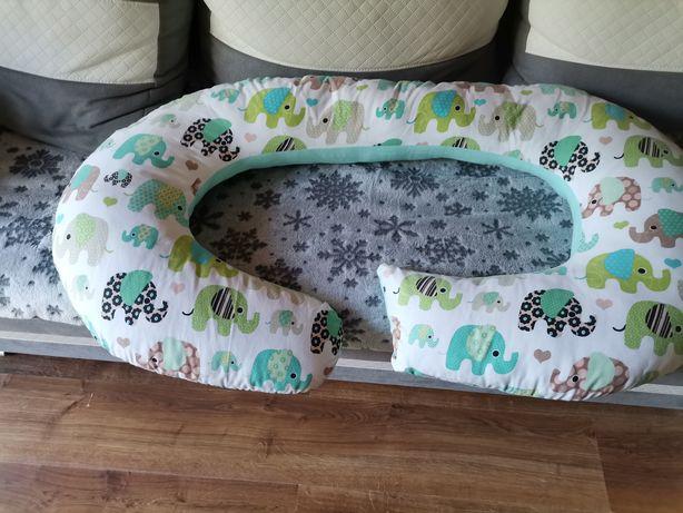 Poduszka, rogal do spania dla kobiet w ciąży