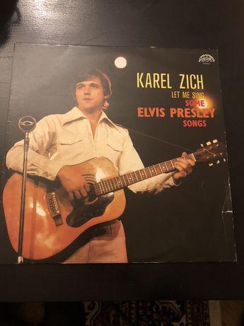 Płyta winylowa Karel Zich śpiewa Elvisa Presleya