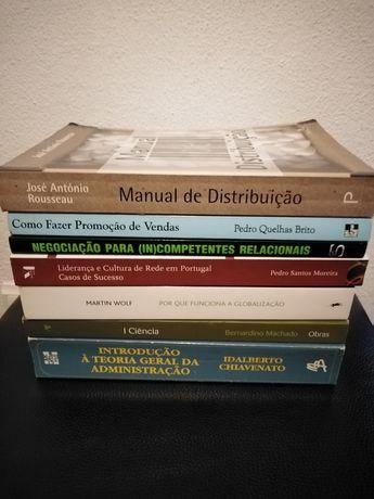 Livros técnicos universitários