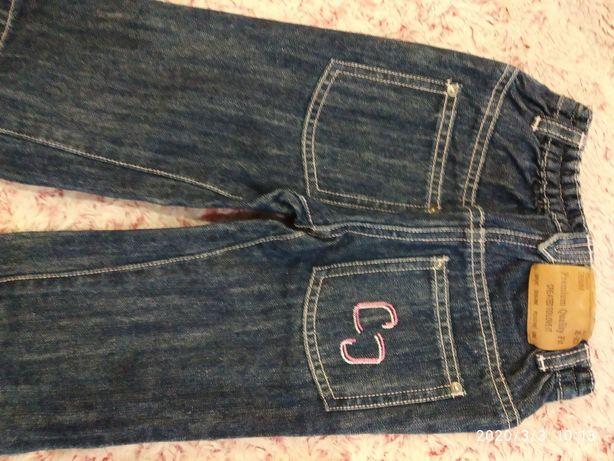 Продам джинсы Chicco на девочку